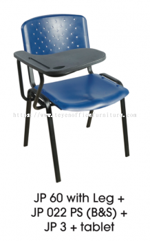 STUDY CHAIR WITH WRITING PAD