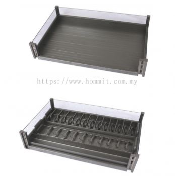 Aluminium Alloy Glass With Three Sides Blue