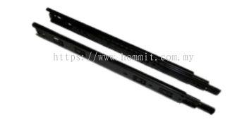 1.0*1.0*1.2 / 45mm - Full Extension Drawer Slide (Black)