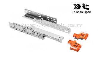 Push To Open Undermount Full Extension Ball Bearing Drawer Slide