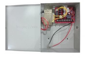 Door Access Power Supply Without Backup Battery
