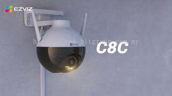 EZVIZ C8C Outdoor Pan & Tilt Camera
