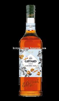 GIFFARD SALTED CARAMEL SYRUP 1L