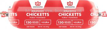 Worthington Meatless Chicketts 1lb Roll 454g