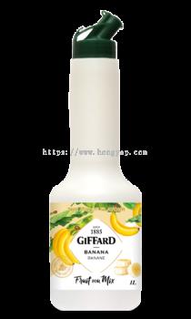 GIFFARD BANANA FRUIT FOR MIX 1L