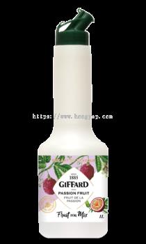 GIFFARD PASSION FRUIT FRUIT FOR MIX 1L