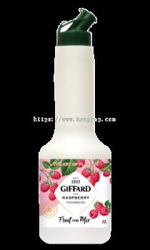GIFFARD RASPBERRY FRUIT FOR MIX 1L