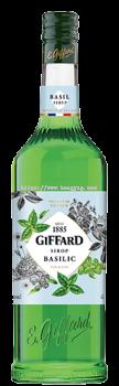 GIFFARD BASIL SYRUP 1L