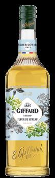GIFFARD ELDER FLOWER SYRUP 1L