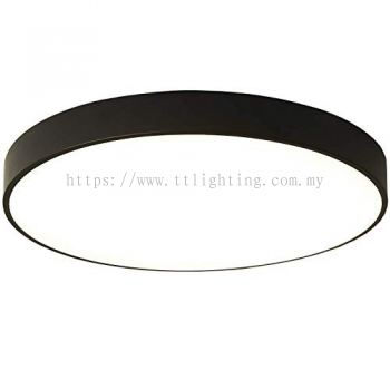 Round Ceiling Light (Black��