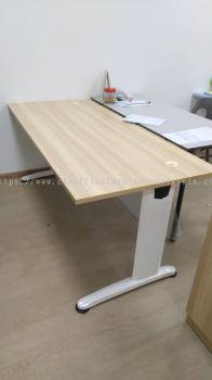 DELIVERY & INSTALLATION RECTANGULAR WRITING OFFICE TABLE BT 158 OFFICE FURNITURE | SS15 | SUBANG JAYA | SELANGOR