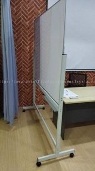 FREE DELIVERY & INSTALLATION WHITEBOARD WITH STAND OFFICE FURNITURE | CAHAYA SURIA | KL