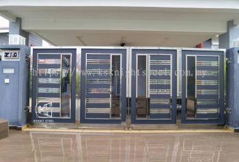 Folding Gate Taman Tanjung Minyak Perdana, Melaka