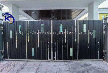 Folding Gate Taman Serom Perdana, Tangkak