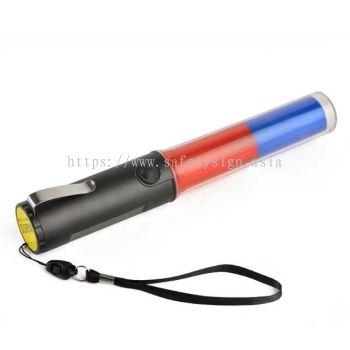 LED 2 COLOR TRAFFIC BATON LIGHT ( 3 X AA BATTERY) VSAFEMKT