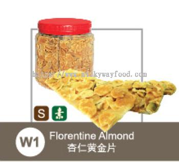W1-Florentine Almond 杏仁黄金片