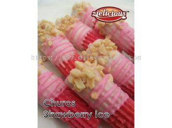 ZZ1 CHUROS STRAWBERRY ICE
