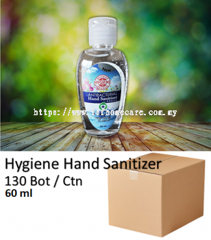 60ml Hand Sanitizer - 75% Alcohol Water Base