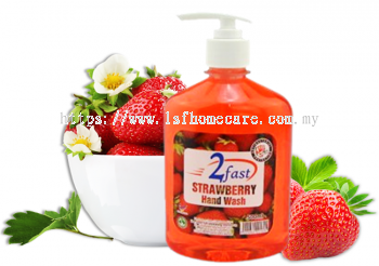 500ml Strawberry Hand Wash (AntiBacterial)