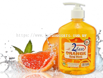 500ml Orange Hand Wash (AntiBacterial)