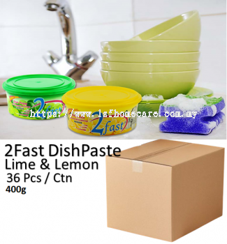 400g DishPaste Lime & Lemon(36pcs)