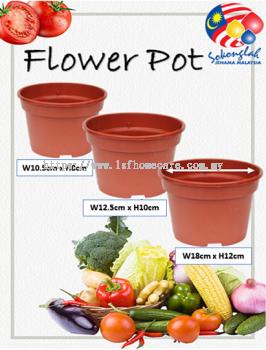 Pasu Pokok Bunga Flower Pot - NP4, NP5, NP6