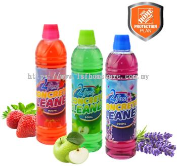 2 Fast Floor Cleaner(Lavender, Apple, Strawberry)900ml