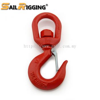 Steel Drop Forged S322 Heavy Lifting Swivel Hook Chain Accessories