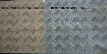 BPM36981BR BALENA STONE & WOOD (30X60cm)