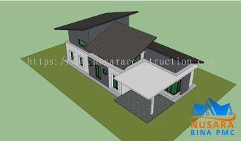 Single Storey Terrace Renovation