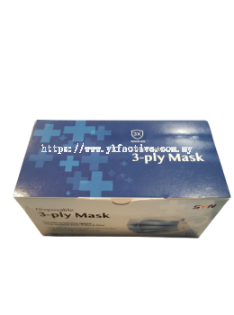 YKF Disposable 3-Ply Mask