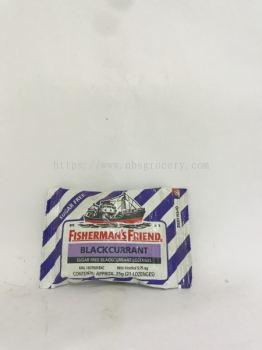Fisherman¡¯s Friend Black Currant Sugar Free Lozenges 25g