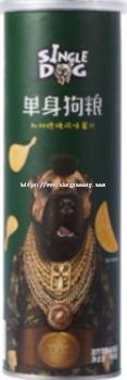 SINGLE DOG CALIFORNIA BBQ 100G �����տ���ζ��Ƭ