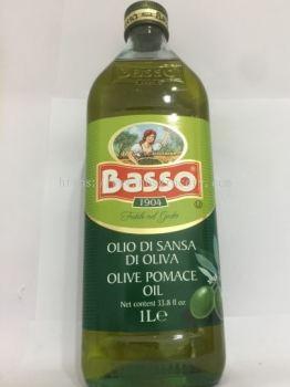 BASSO OLIVE POMACE OIL 1L �����
