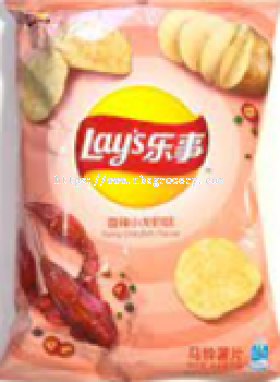 LAY'S SPICY CRAYFISH FLAVOUR 40G