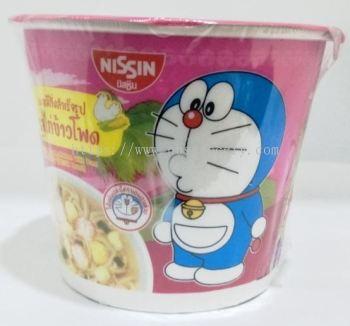NISSIN DORAEMON MINI SUP INS NOODLES(PINK) 1CUP