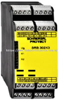 Schmersal Safety Relay SRB302X3-24VAC-DC-230VAC