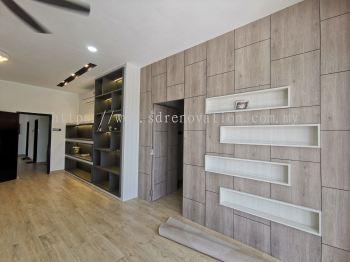 Bedroom Area Display Cabinet - Interior Design Ideas- Renovation - Residential - Pekan Nanas Johor