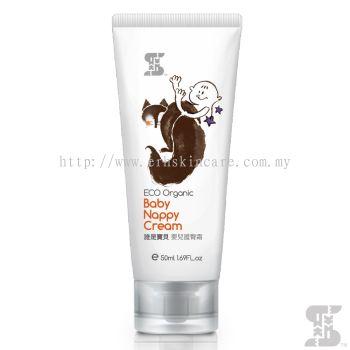 SASSI BABY Eco Organic Baby Nappy Cream 50ml for Eczema Rashes