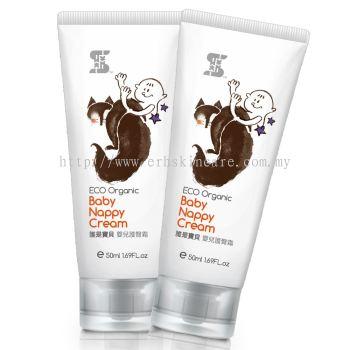 SASSI BABY Eco Organic Baby Nappy Cream 50ml for Eczema Rashes [ Buy 1 Free 1 ]