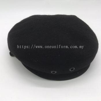 ACSC09 Wool Beret Hitam