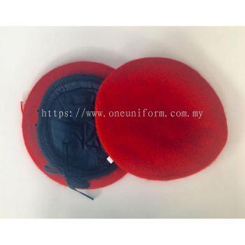 ACSC08 Wool Beret Merah