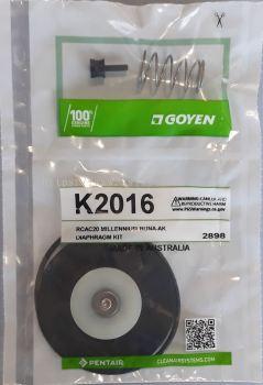 K2016 Goyen Diaphragm Kit