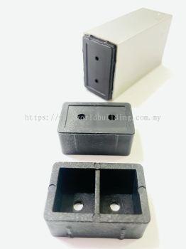 """PVC Bracket Hollow Bracket 1"""" x 1-1/2"""""""