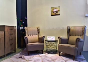 EKIA SY888Button wing chair
