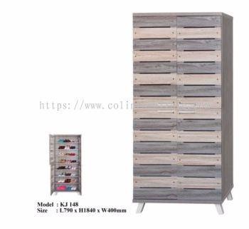 KJ148 2door Tall Shoe cabinet