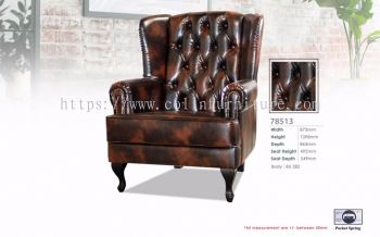W 78513 Wing Chair