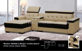 78239 3L Shape Sofa