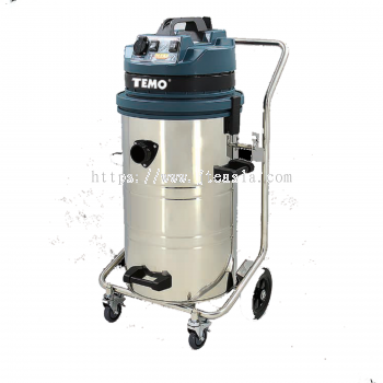 60L/2400W Professional Wet & Dry Vacuum Cleaner (Stainless Steel Tank) - UK Standard
