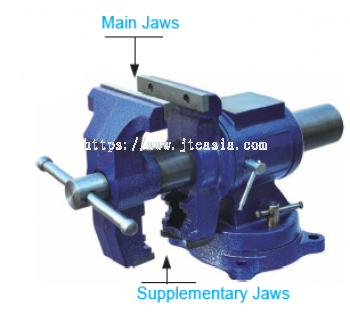 125mm Multi-function Bench Vise with Swivel Base